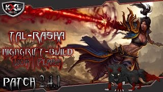 Diablo 3 RoS [Patch 2.4.1] Flash High-Grift-Build [HC-Tauglich!] [Tal Rasha] ➥ Let's Build