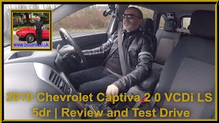 Review and Virtual Video Test Drive In Our 2010 Chevrolet Captiva 2 0 VCDi LS 5dr