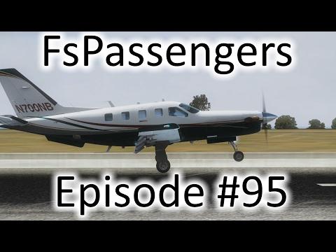 FSX | FsPassengers - Ep. #95 - Santiago to Santo Domingo | TBM 850
