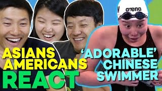 Chinese Americans Reacting to The Most Lovable Athlete At The Rio Olympics Fu Yuanhui