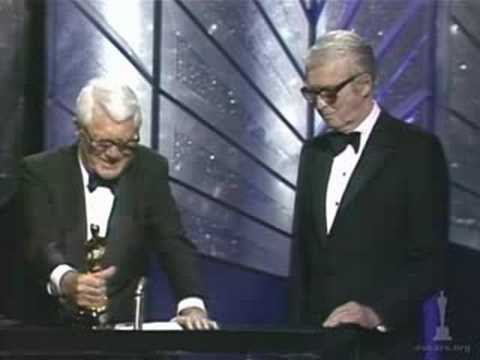 James Stewart receiving an Honorary Oscar®