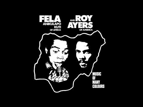 "Fela Kuti - Fela & Roy Ayers (LP) ""Music Of Many Colours"""