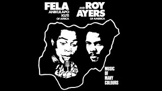 fela kuti fela roy ayers lp music of many colours