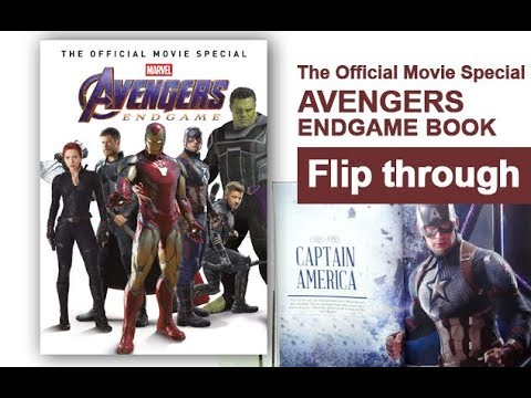 avengers-endgame-the-official-movie-special-book-flip-through