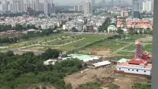CHITHACONST - Khu đô thị An Phú An Khánh nhìn từ trên cao (Penthouse Estella)