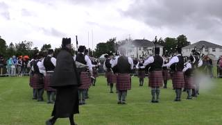 Police Service of Northern Ireland Pipe Band Omagh 2013
