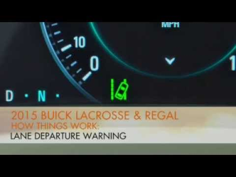 2015 Buick Lacrosse How To Turn Off Lane Departure Warning Youtube