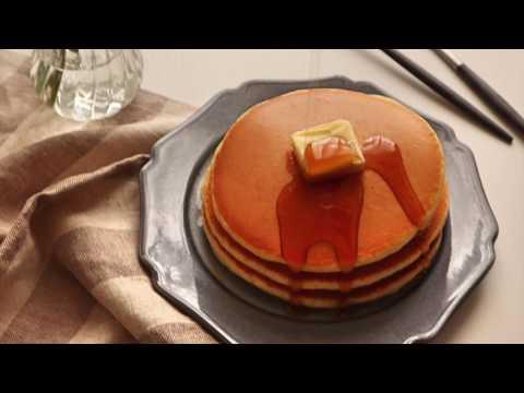 【料理】ホットケーキを綺麗に焼くコツ