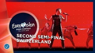 Luca Hänni - She Got Me - Switzerland - LIVE - Second Semi-Final - Eurovision 2019
