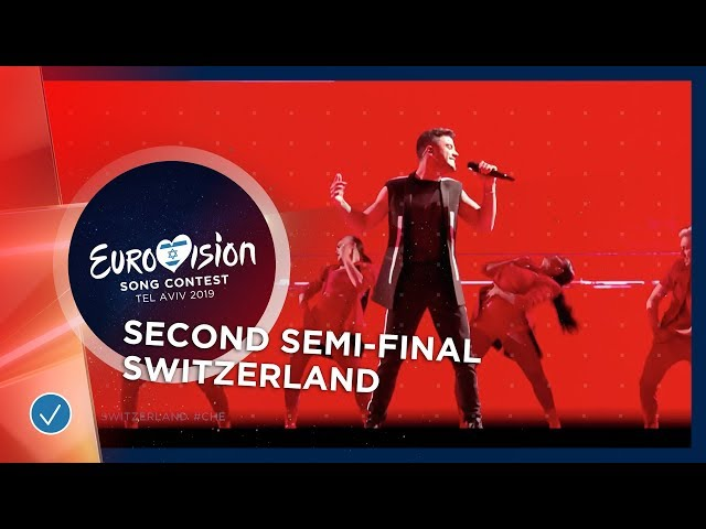 Luca Hänni - She Got Me - Switzerland - LIVE - Second Semi-Final -  Eurovision 2019
