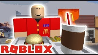 working at mcdonalds on roblox is awful