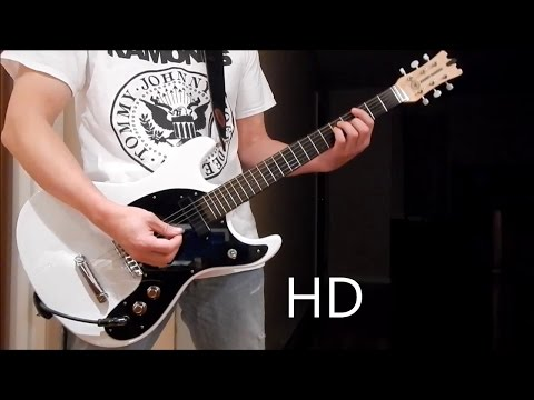 Ramones – Do You Remember Rock 'n' Roll Radio (Guitar Cover), Barre Chords, Downstroking