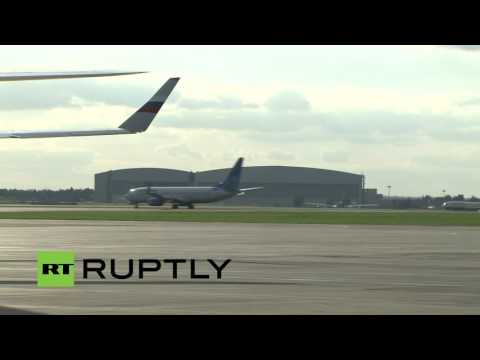 LIVE: John Kerry arrives in Moscow for talks with Lavrov