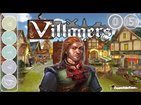 Villagers Gameplay ~ The  Witch, the Queen and the Bandit ~ Let's Play ~ A Game Like Settlers