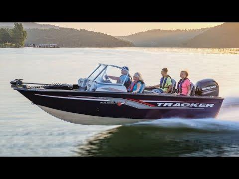 TRACKER Targa V18 Combo Aluminum Deep V Boat