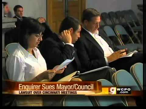 Cincinnati Enquirer Sues City Council