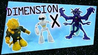 Teenage Mutant Ninja Turtles Dimension X Lord Dregg Fugitoid Mozar Walmart exclusives