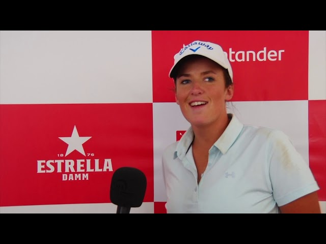 Santander Golf Tour Valencia 2019: Charlotte Leathem-  Líder después del primer día