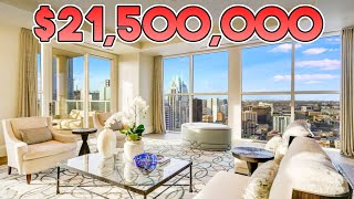 INSIDE A $21,500,000 AUSTIN, TEXAS PENTHOUSE