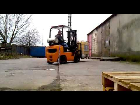BARTHOLOMEW PATRICK SAWICKI IS BEING RE-TRAINED TO DRIVE FORK-LIFT - PART 4