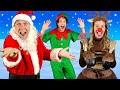 Santa Claus is On His Way - Kids Christmas Song