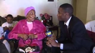 100 Year Grandma Talks Big D*cks With Black News Reporter! {Hilarious Live TV}. LOLOLOL!!!