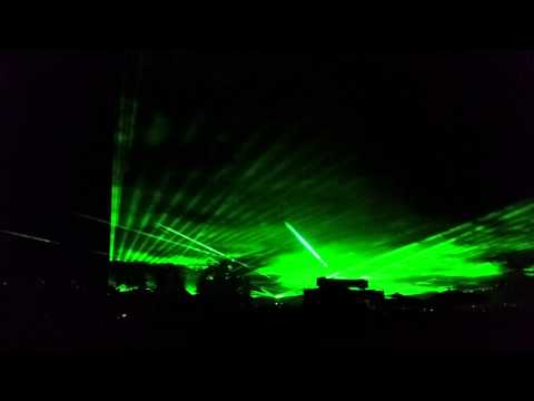 Flammende Sterne Ostfildern 2014 / Lasershow (2/3)