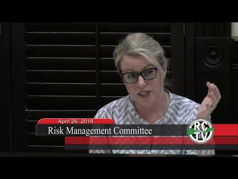 Risk Management Committee - April 26, 2018
