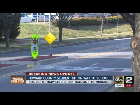 River Hill High School student struck by car