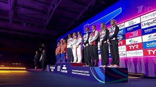 Мировой рекорд установили российские пловцы на чемпионате Европы который проходит в Глазго