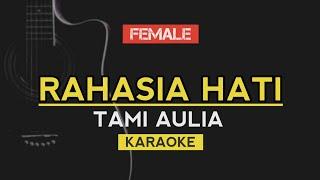 Rahasia Hati - Tami Aulia (Element) Karaoke Acoustic