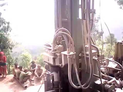 water drilling at Himalaya Ontop Organic Coffee Estate