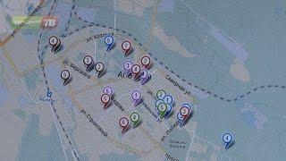 Интерактивная карта г.Апатиты