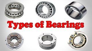 Bearing Types - Types of Bearings - Classification of Bearings
