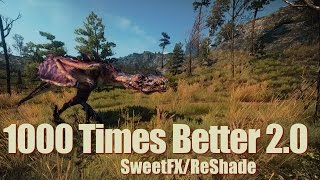The Witcher 3 Mods - 1000 Times Better 2.0 SweetFX/ReShade (+Comparison) [4k/HD]