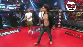 TIGER SHROFF REAL STUNT IN SUPER FIGHT LEAGUE LIVE !!