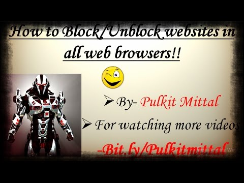 how to find whisch website not block