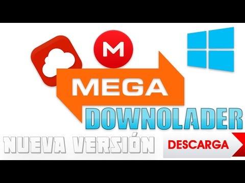 Descargar MEGA DOWNLOADER [v.1.7] - DESCARGAR SIN LIMITES | SIN ERRORES