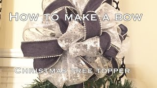 How To Make A Bow|DIY The Easy Way!|#VD6