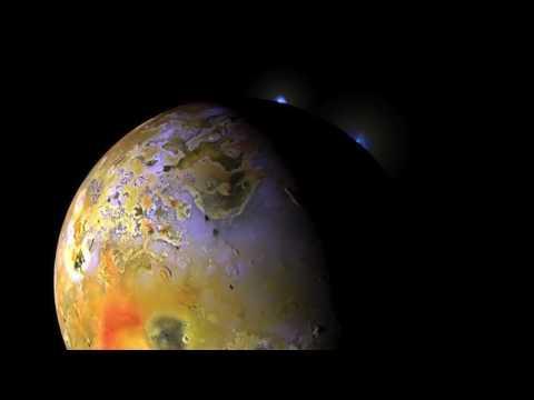 Electric Arcs on Jupiter's Moon Io | Space News