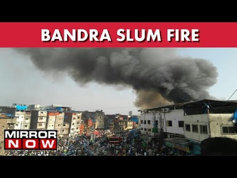 Bandra Slum Fire : Local Resident Arrested And Charged With Arson I The News