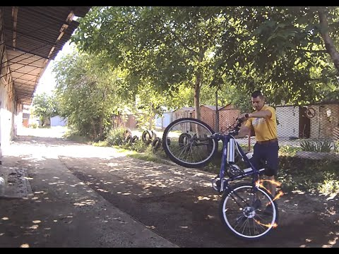 Самодельный Электровелосипед 1. Тестирование максимальной  скорости и ездовые характеристики.