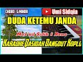 DUDA KETEMU JANDA-Mas'ud Sidik & Rena-Karaoke Qasidah Dangdut Koplo Cover Korg Pa 700
