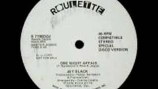 Jay Black - One Night Affair (1976).flv
