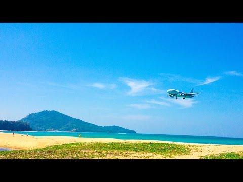 Mai Khao beach | Phuket beaches | Thailand Phuket travel blog [ENG SUB]