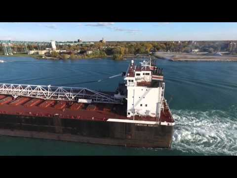 Detroit River Freighters October and November 2015