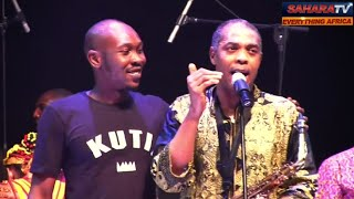 seun and femi kutis joint performance on lagos island