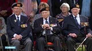 Veteranen Prinses Irene Brigade herdenken D-Day
