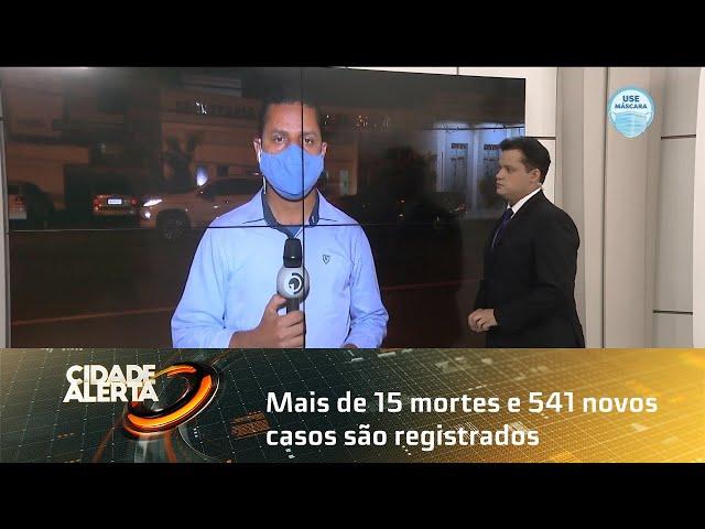 Coronavírus: Mais de 15 mortes e 541 novos casos são registrados em Alagoas