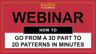 How to go from 3D Part to 2D Sewing Patterns